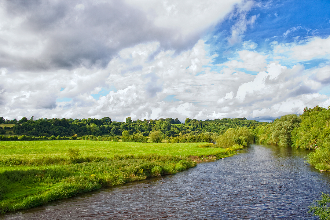River Boyne embrace has provided rich soils and protection to the lands for the last 6 thousand years.
