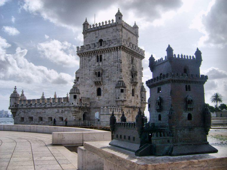 Torre de Belém and its model